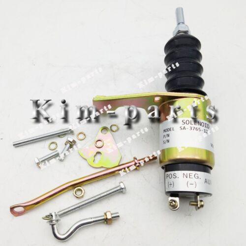 Fuel Stop Solenoid Kit SA-3765-12 for RSV 1751 solenoid left mounted 12V