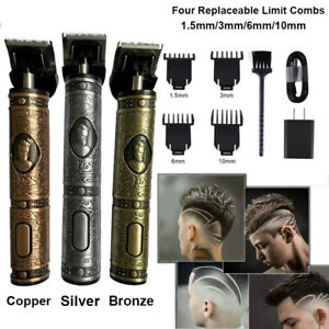 Portable-Electric-Pro-T-outliner-Cordless-Trimmer-Wireless-Hair-Clipper-Set-USB