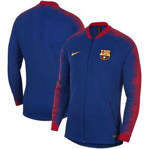 8ba583c3562 Nike Barcelona 2018/2019 Anthem Performance Full-Zip Jacket [894361 ...