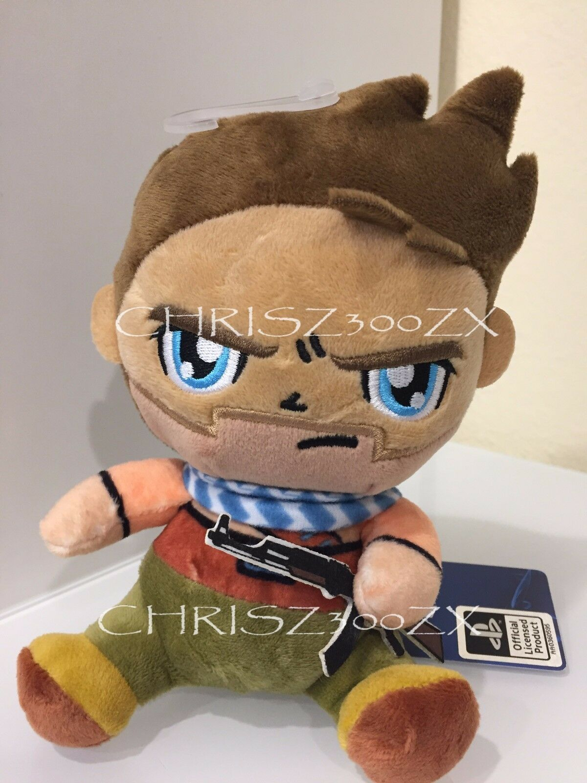 Uncharted Nathan Drake EXCLUSIVE Edition Stubbins Plush Doll 6  OFFICIAL - Sony