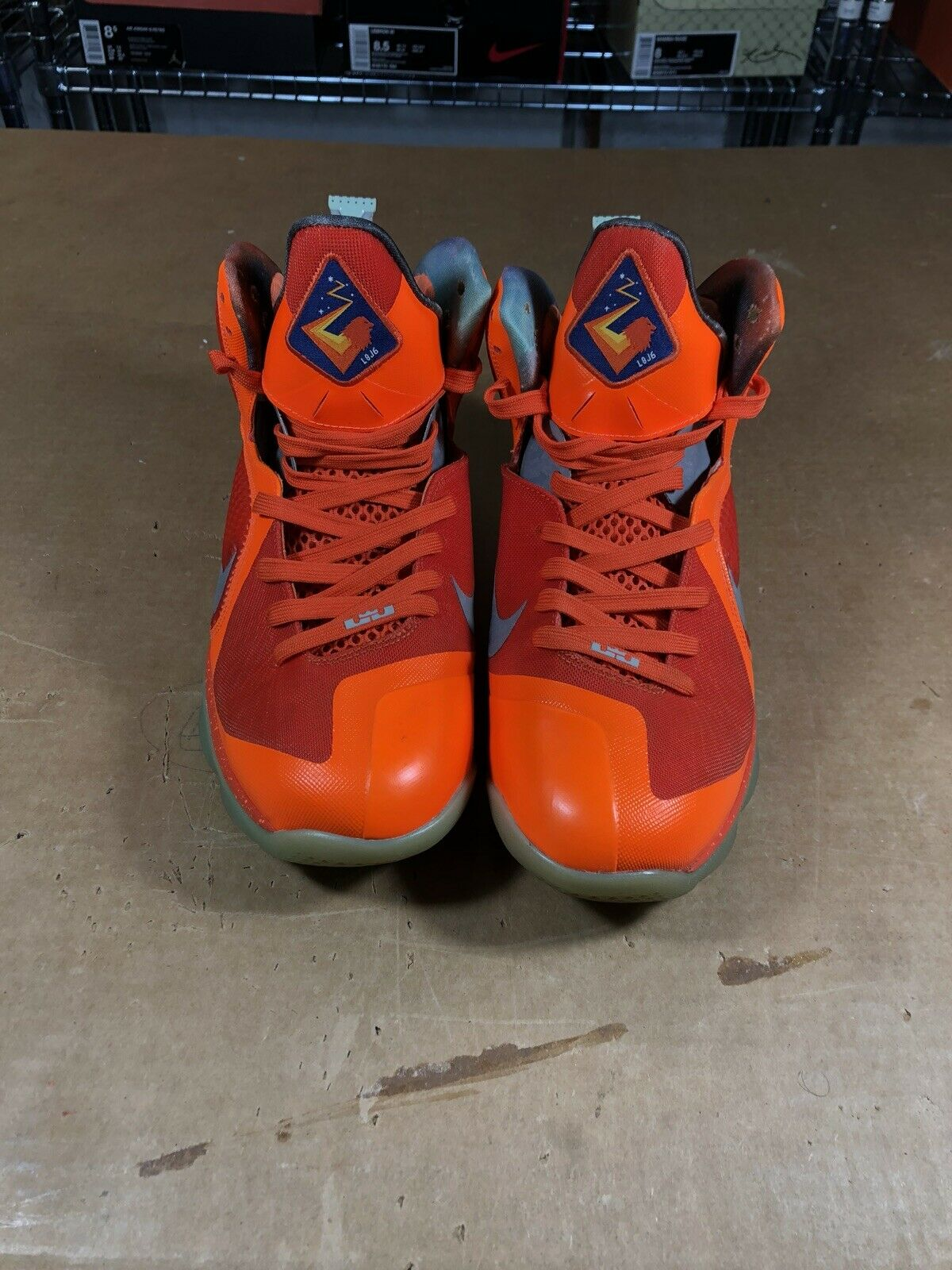 100% Authentic Nike Lebron 9 Big Bang AS Size 10.5 520811 800