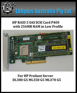 HP-Smart-Array-P400-256MB-Cache-RAID-SAS-Controller-Card-4-DL380-G5-low-profile