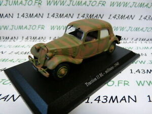 TRA18C-voiture-1-43-atlas-traction-NOREV-traction-11-BL-militaire-1940
