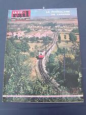 vie du rail 1963 884 FUNICULAIRE LANGRES MARPENT LA CLUSE SAINT MARTIN DU FRESNE