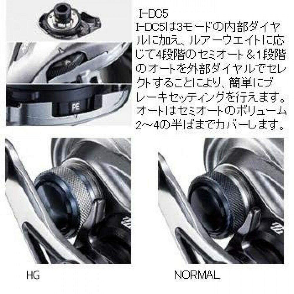 Carrete Shimano 15 metano DC izquierda de Japón F S S S fd325a