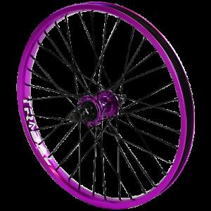 Tribal-BMX-Rear-Wheel-20-034-Rim-9-Tooth-Cassette-Hub-Purple
