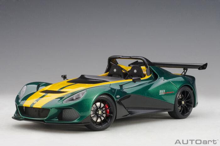 753392 bilAR1 18 Lotus 3-Eleven (grön gul)
