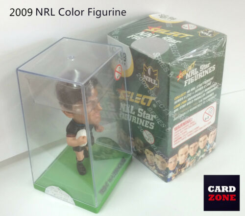 Raiders 2009 Select NRL STARS COLOR FIGURINE NO.9 Terry Campese