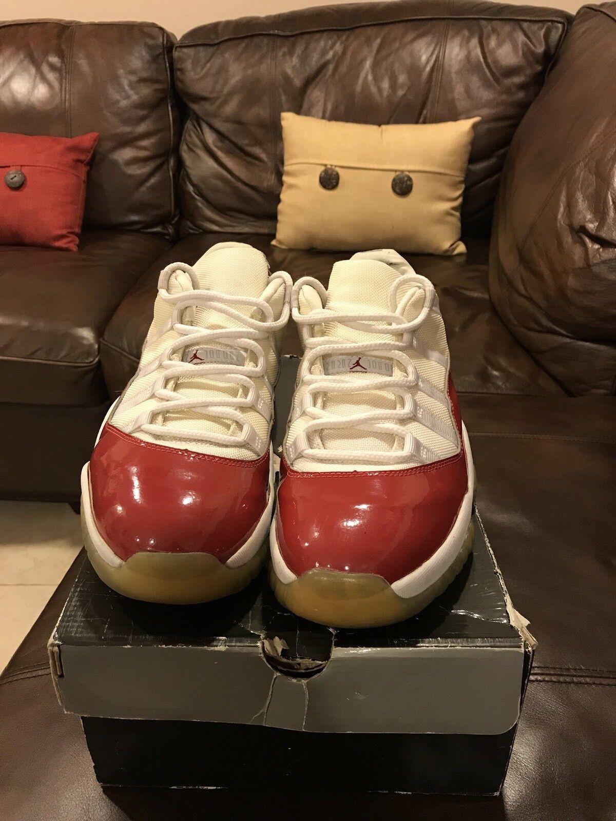 Jordan XI Low Cherry sz 12 I III IV V VI VIII XII XIII Yeezy