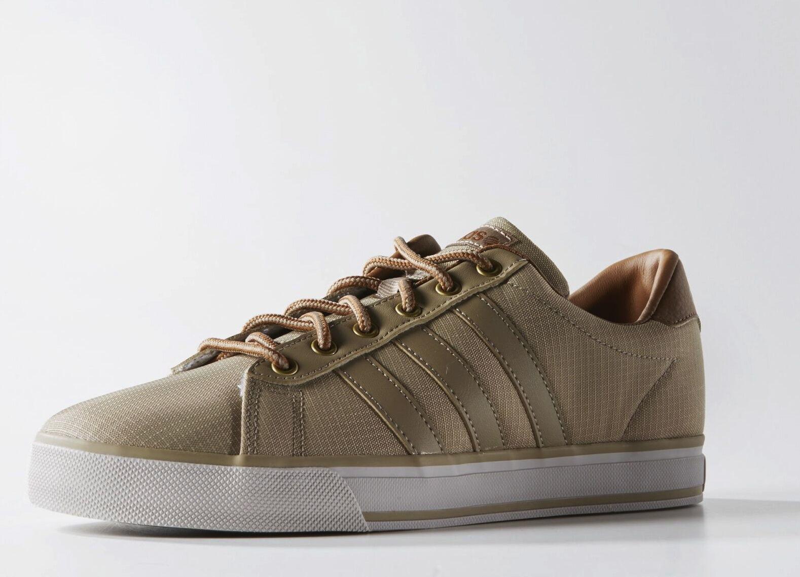 Herren Sport Schuhe * ADIDAS NEO DAILY  *Brown * LAST ONE