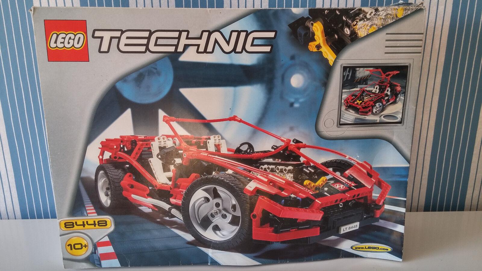 LEGO Technic 8448 Super Car Street Sensation mit BA und OVP