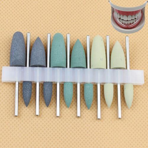 12pcs Dental Silicone Grinding Head Teeth Polisher Low-speed Polishing Resin