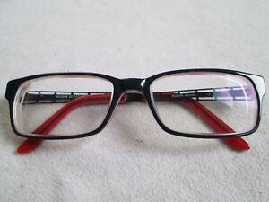 Kubik Concept Black Red Glasses Frames Kc 5509 Ebay