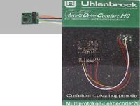 UHLENBROCK 76320 Lokdecoder 8-polige Schnittstelle NEM 652 DCC+Motorola NEU+OVP