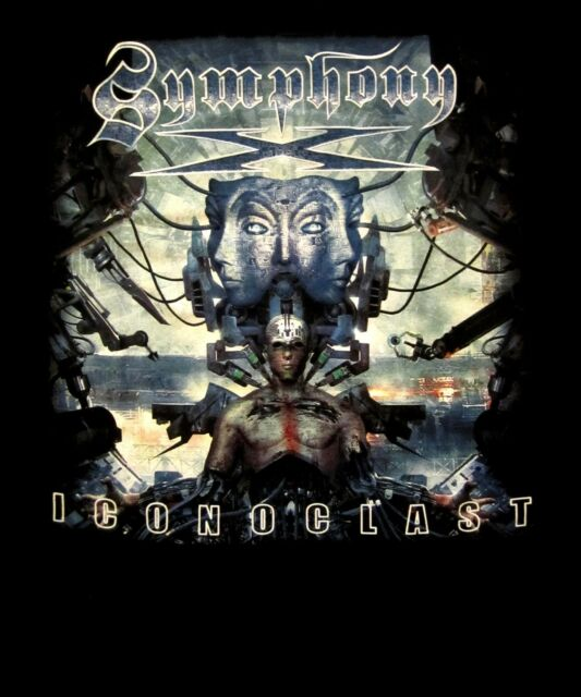 SYMPHONY X -  ICONOCLAST CD COVER Official SHIRT XL new