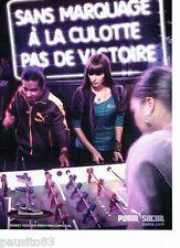 PUBLICITE ADVERTISING 116  2011  Puma  survetments  vetements sport