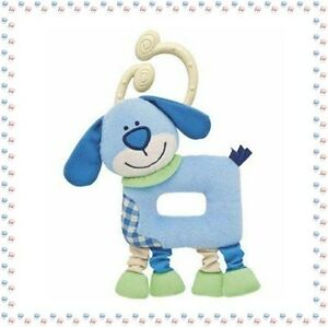 Doudou-Plat-Hochet-Chien-Bobby-Chicco-Collection-Les-Rigolos-039-Formes