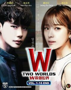 Details about Korean Drama: W – Two Worlds | TV Series | DVD | Eng Sub