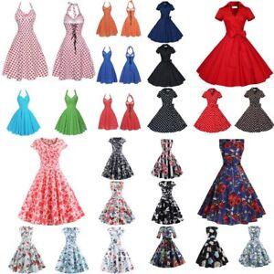 2019-Women-Vintage-Prom-Ball-Gown-Evening-Party-Dress-Swing-Skirt-Maxi-Dress