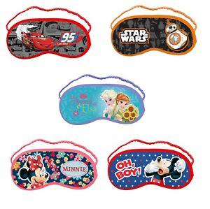 Disney Enfants sommeil Masque Yeux Doux Voyage Amusant Masque Yeux-afficher le titre d`origine Nl4leH22-07202542-569032838
