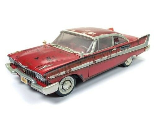Plymouth Fury Christine Dirty Version 1:18 AutoWorld