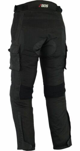 Herren Motorradhose Sommer Motorradhose Textil Schwarz , S - 5XL