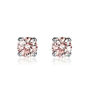 18k-white-gold-gp-925-silver-made-with-Swarovski-CZ-earrings-Fancy-Morganite-5mm