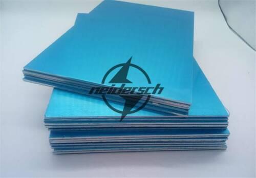 100mm 100mm 1pc 7075 Aluminum Al Alloy Shiny Polished Plate Sheet 10mm