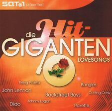 Die HitGiganten -  Lovesongs - 2 CDs NEU John Lennon Nazareth Mr. Mister Kansas