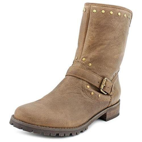 Corso Como 7464 Womens Seminole Havana Brown Leather Ankle Boots Size 7.5