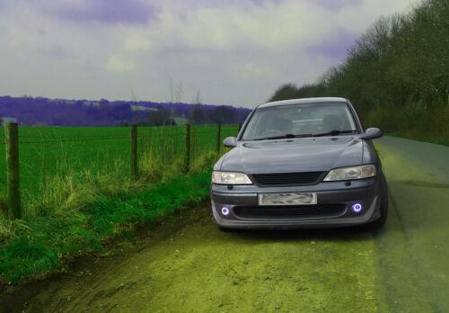 Projector Cob LED Fog DRL Spot Lights Angel Eyes Pair For BMW MINI COOPER