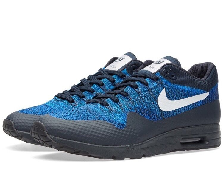 Womans Nike Nike Nike Air Max 1 Ultra Flyknit Trainers-Größe UK 3.5+4 (843387-401) 0ce16d