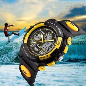 SKMEI-Kids-Boys-Girls-Waterproof-Alarm-Silicone-Sport-LED-Digital-Wrist-Watch-US