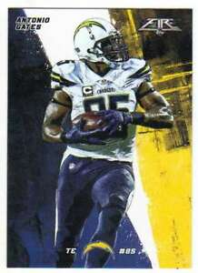e50c3dee Details about 2015 Topps Fire Football #9 Antonio Gates San Diego Chargers