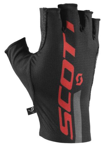 Black Scott RC Premium Pro Tec Fingerless Cycling Gloves
