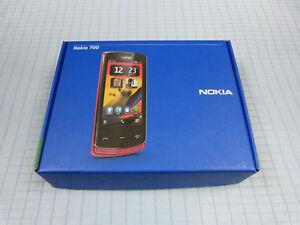 Original-Nokia-700-Grau-Neu-amp-OVP-Ohne-Simlock-Unbenutzt-RAR-Selten
