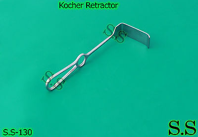 Kocher Retractor (Blade Size 75X30mm) 23cm, S.S-130