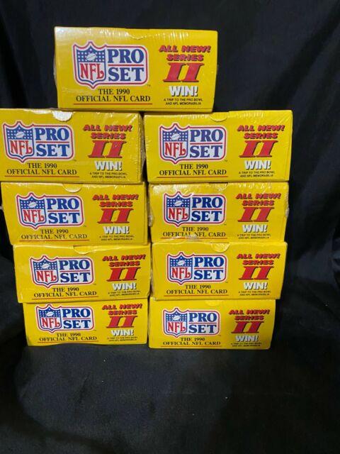 1990 Pro Set Series 2 Football Box Sealed Qty Boxes Emmitt Smith Rc PSA 10?