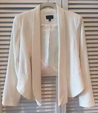 Topshop Cream Blazer Jacket Size EUR 36 US 4 UK 8
