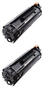 Compatible-for-HP-CB435A-Black-Laser-Toner-Cartridges-2-Pack