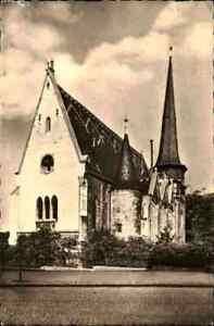 Kirchen-Motiv-Postkarte-DDR-1959-Petri-Kirche-MUHLHAUSEN-Thueringen-Ansichtskarte