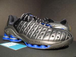 8b341b6f4e29 2002 NIKE SHOX VC LOW VINCE CARTER BLACK ROYAL BLUE SILVER BB4 ...