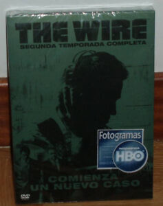 The-Wire-2-Saison-Complete-Scelle-Neuf-5-DVD-Serie-Drama-sans-Ouvrir-R2