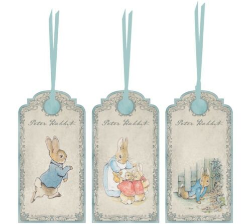 Beatrix Potter set of 12 party favor tags
