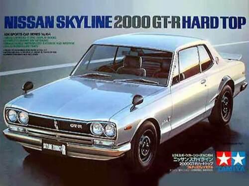 NEU! Tamiya 1:24 24194 Nissan Skyline 2000 GT-R Hard Top