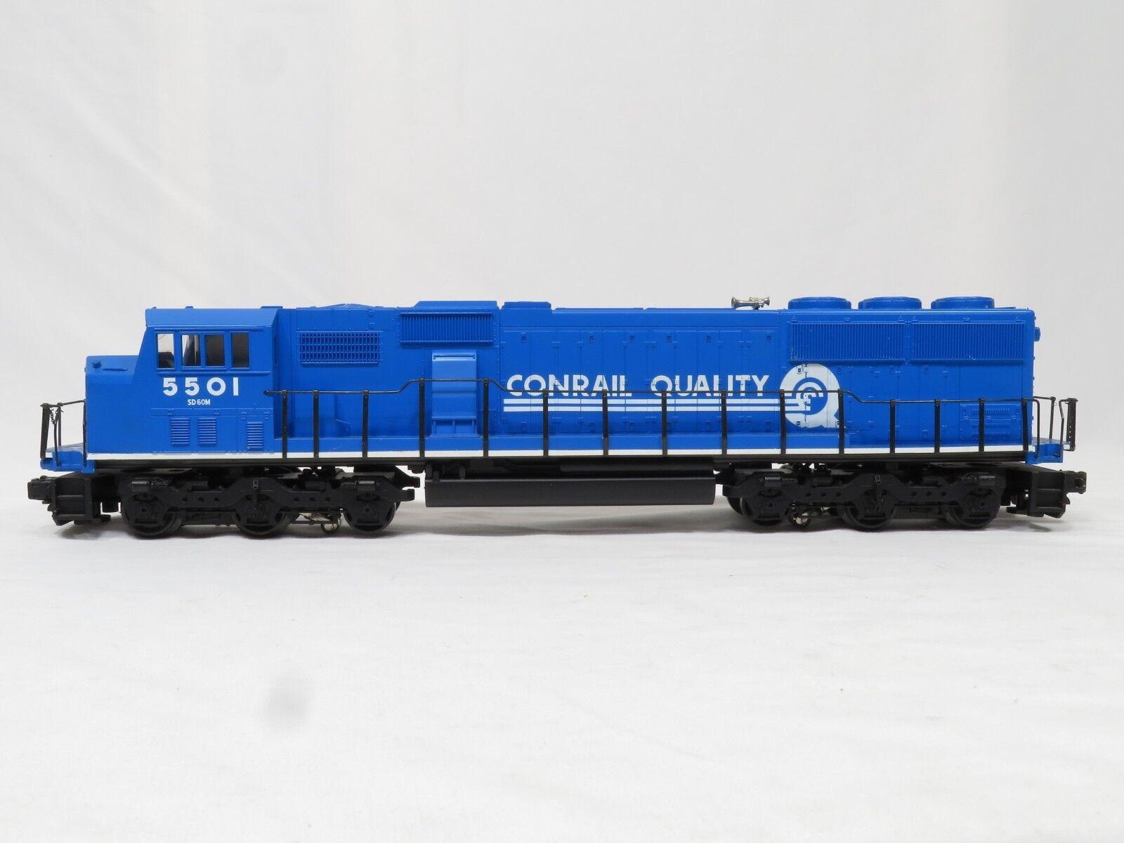 MTH MT-2043L Conrail 5501 3 Rail W Horn EMD SD60 Diesel EX
