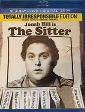 THE SITTER NEW BLU RAY + DVD MOVIE 2-DISC SET JONAH HILL METHOD MAN JB SMOOVE