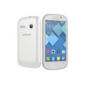 Alcatel-One-Touch-Pop-C3-in-Weis-Handy-Dummy-Attrappe-Requisit-Deko-Werbung