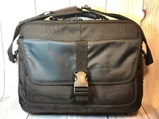 item 8 Targus Heavy Duty Laptop Briefcase Messenger Bag Black Cordura 17
