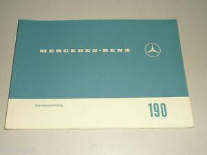 Manual-de-Instrucciones-Mercedes-Benz-Heckflosse-190-190c-W110-Stand-02-1964